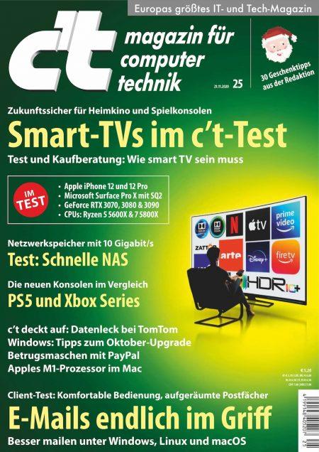 c't Magazin 2020-25