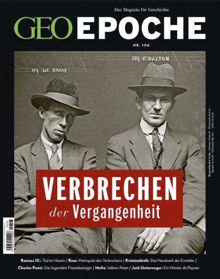GEO Epoche 2020-106 Verbrechen der Vergangenheit
