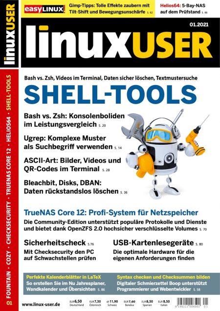Linux User 2021-01