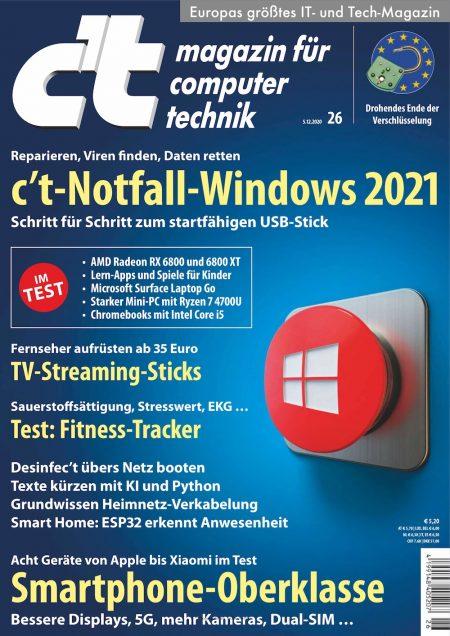 c't Magazin 2020-26
