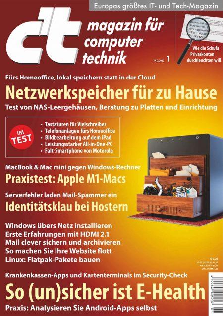 c't Magazin 2021-01