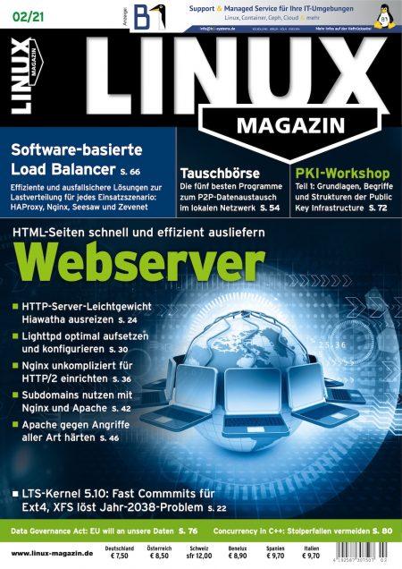 Linux Magazin 2021-02