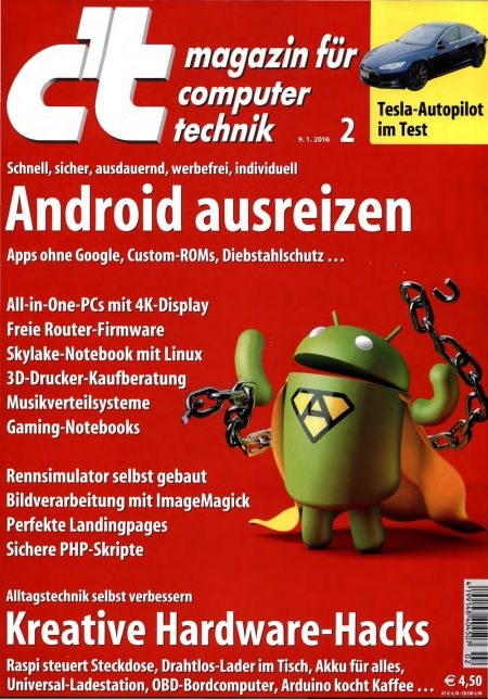c't Magazin 2016-02
