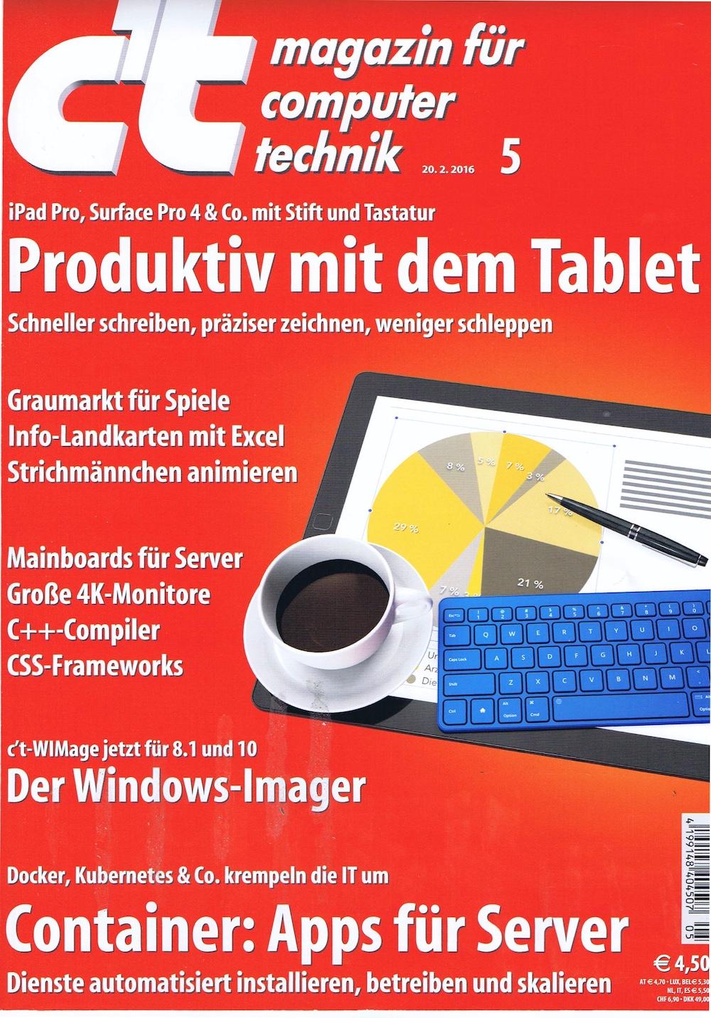 c't Magazin 2016-05