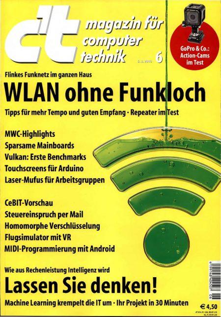 c't Magazin 2016-06