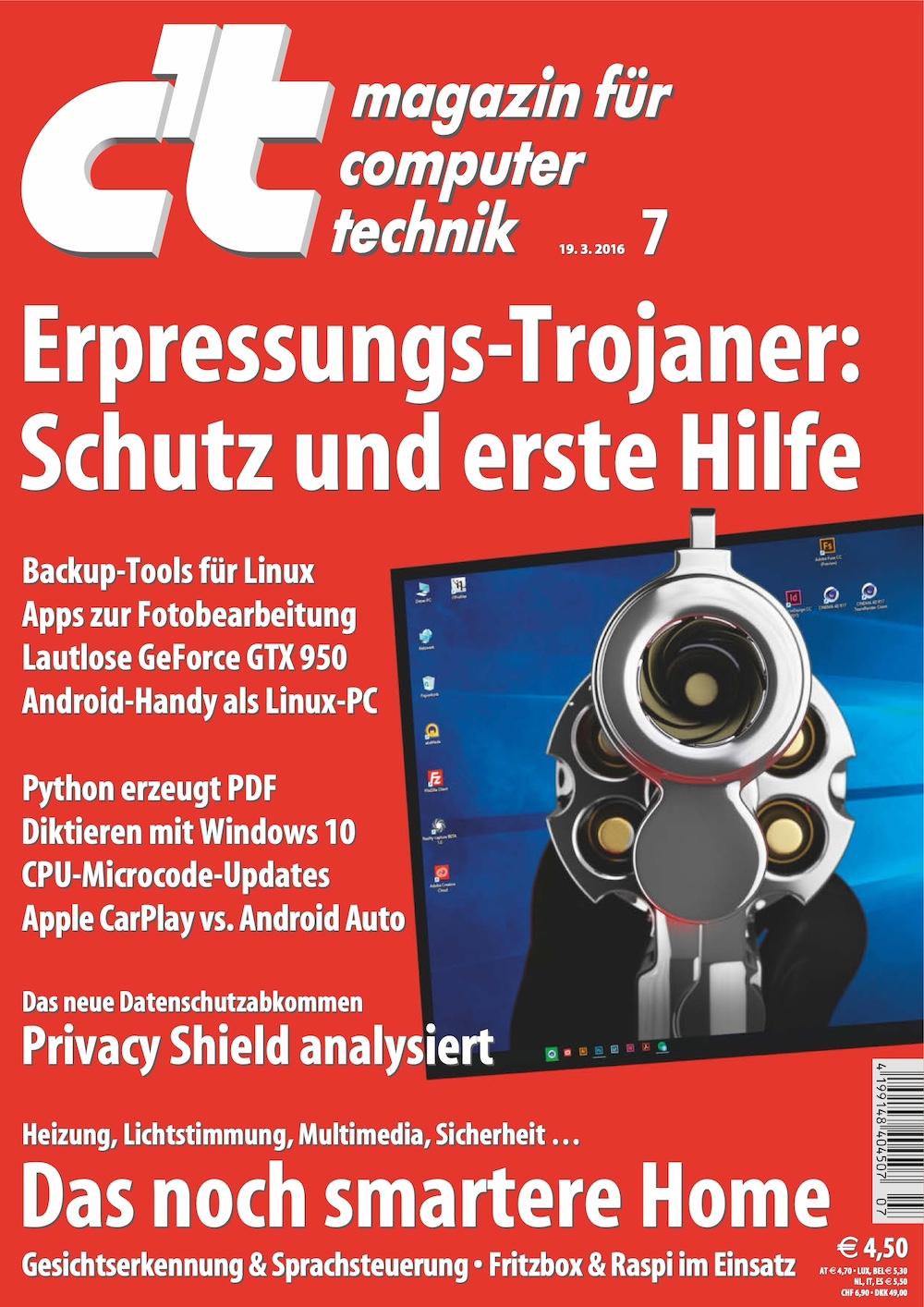 c't Magazin 2016-07