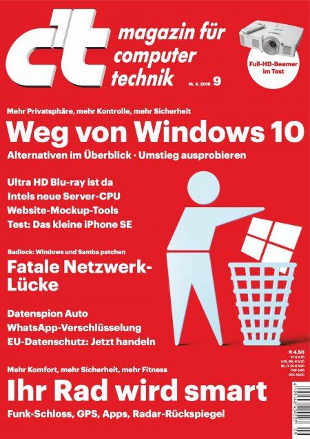 c't Magazin 2016-09