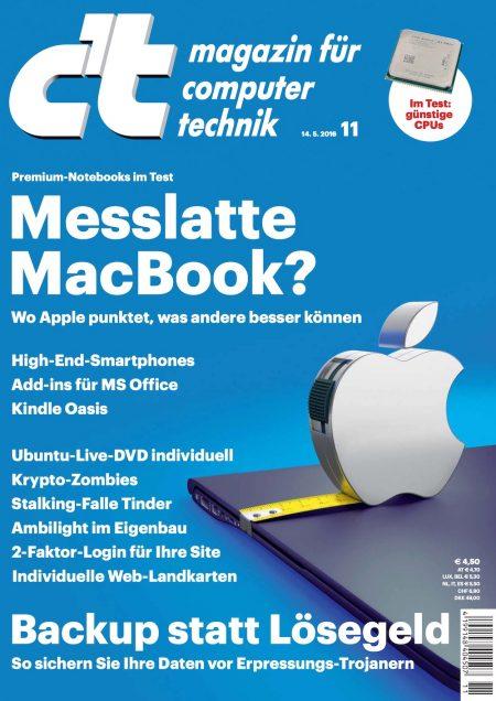 c't Magazin 2016-11
