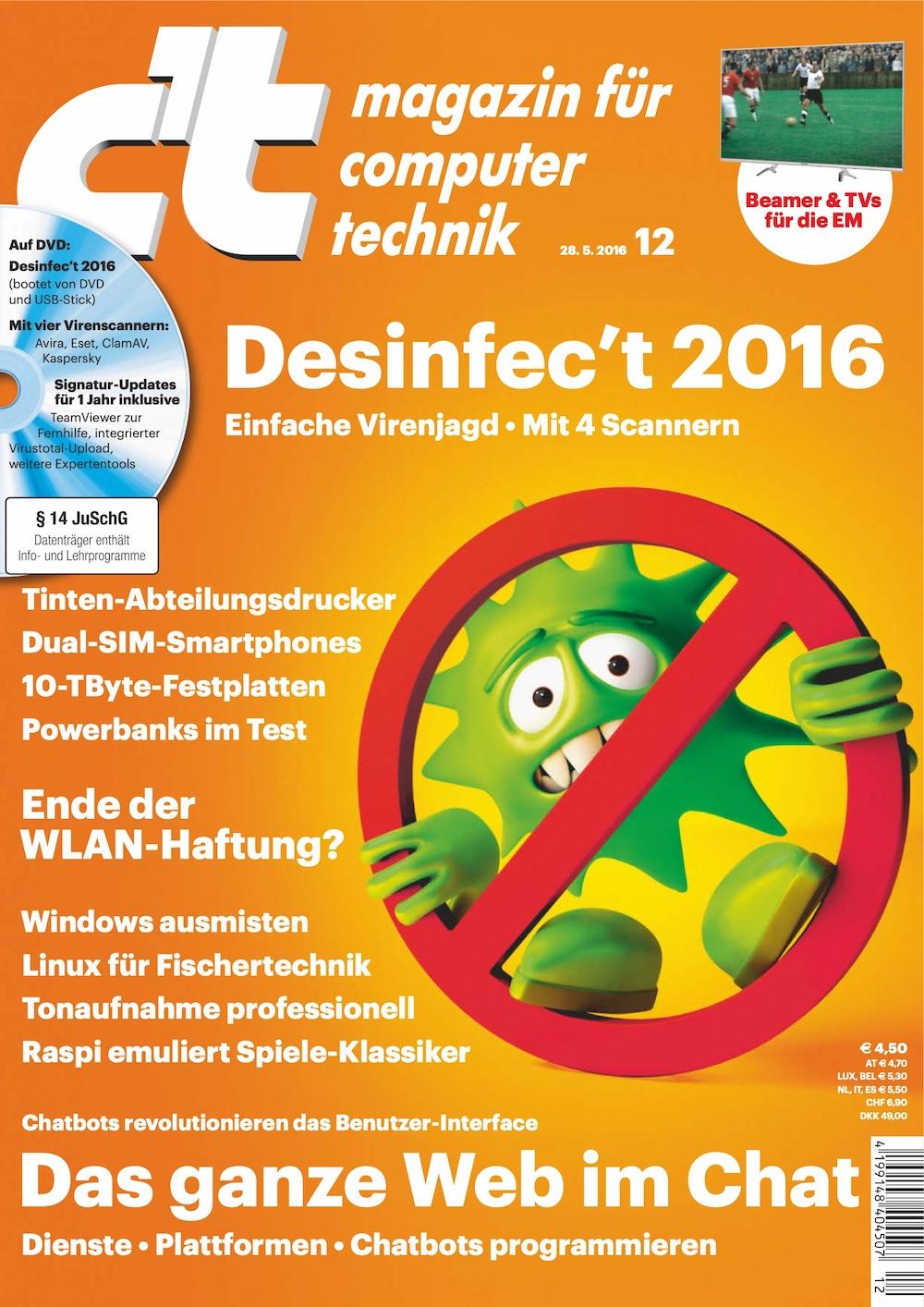 c't Magazin 2016-12