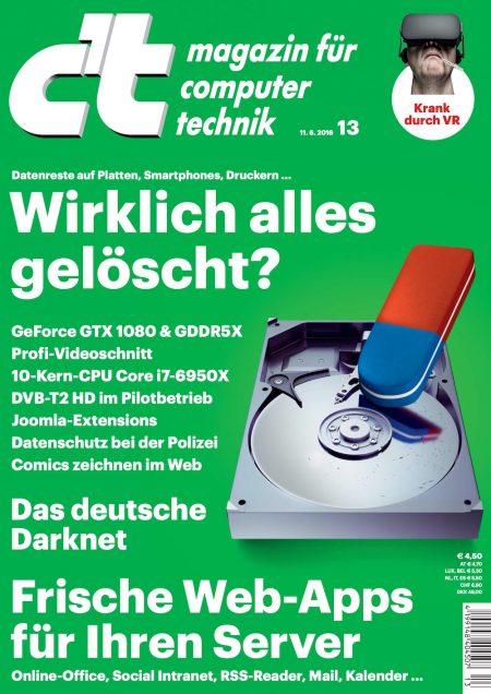c't Magazin 2016-13