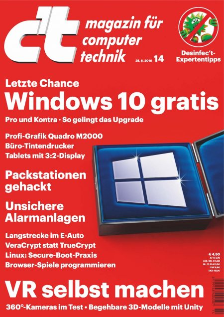 c't Magazin 2016-14