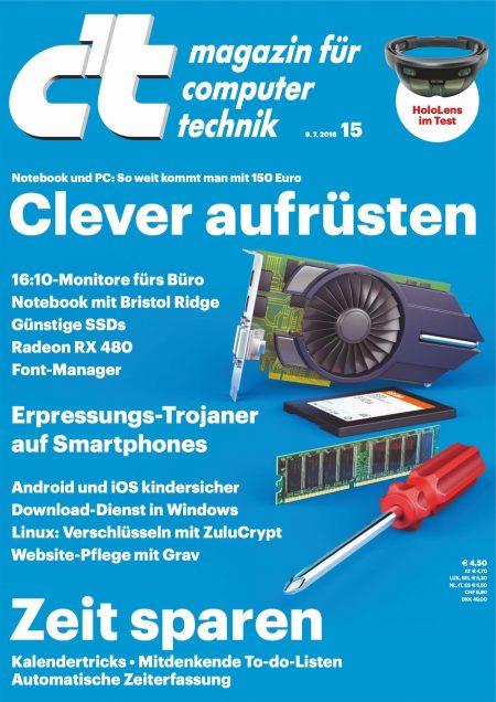 c't Magazin 2016-15