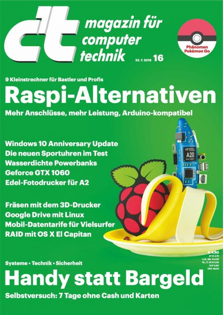 c't Magazin 2016-16