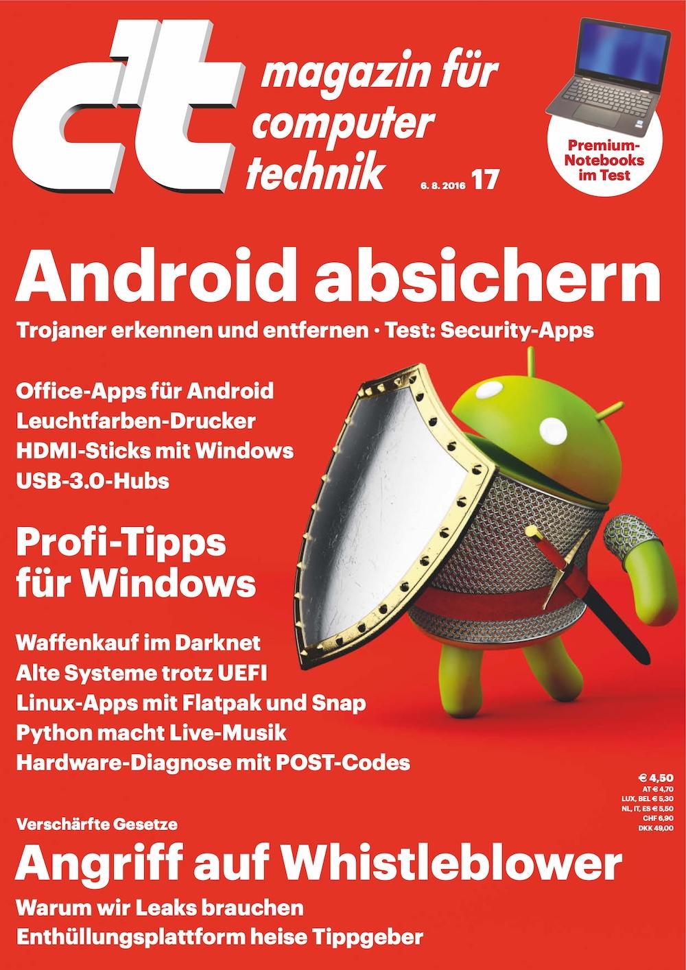 c't Magazin 2016-17