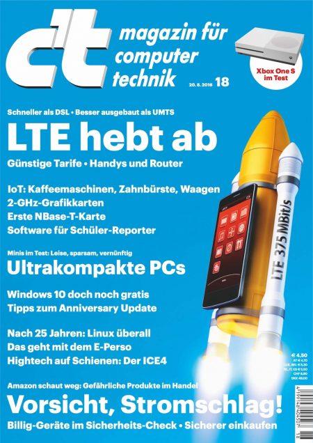 c't Magazin 2016-18