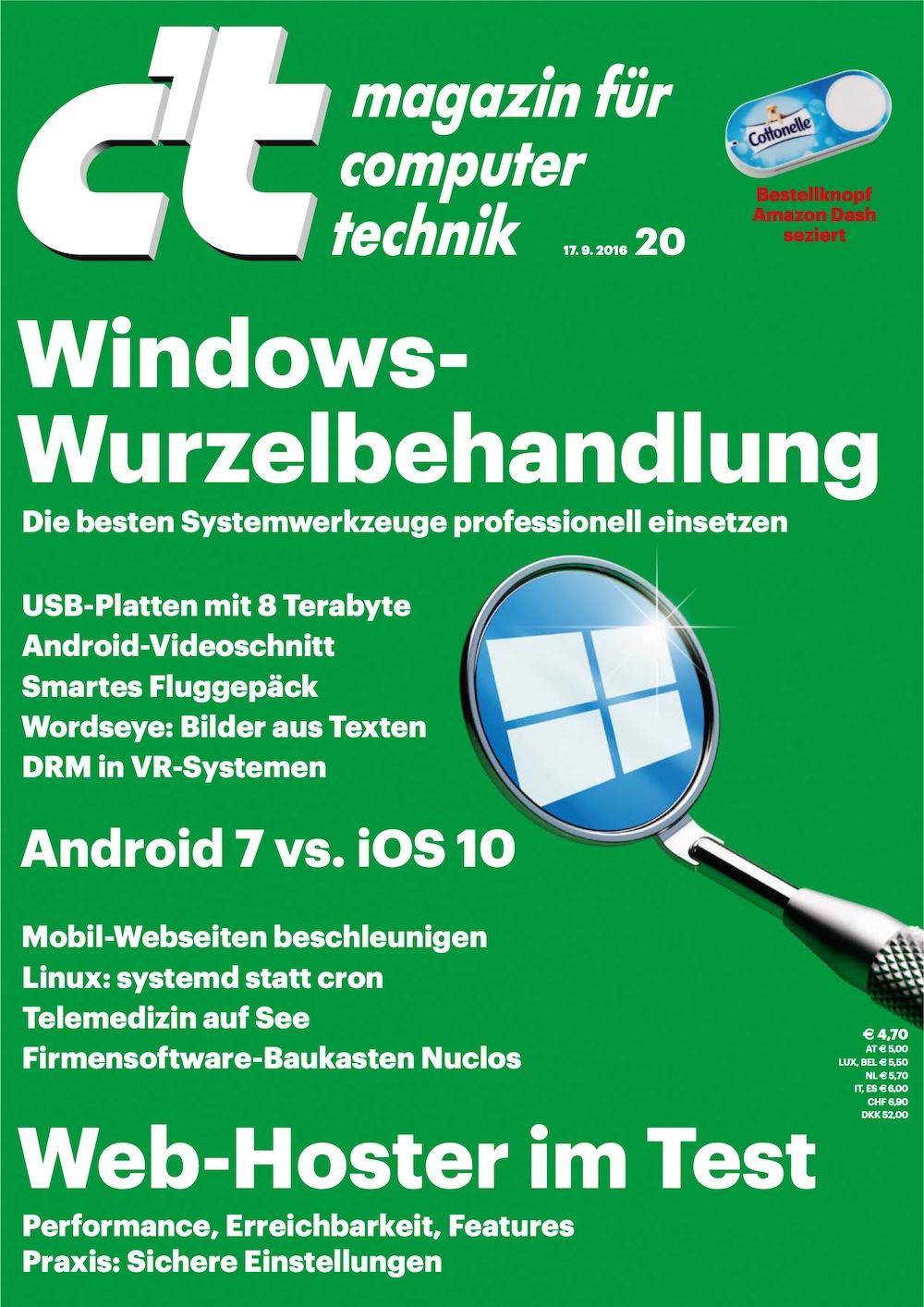 c't Magazin 2016-20