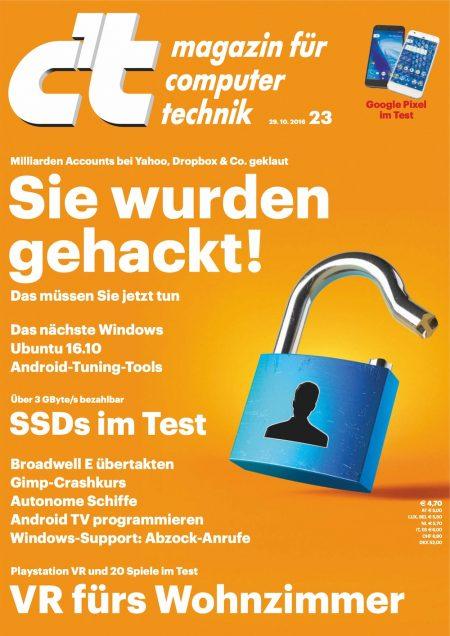 c't Magazin 2016-23