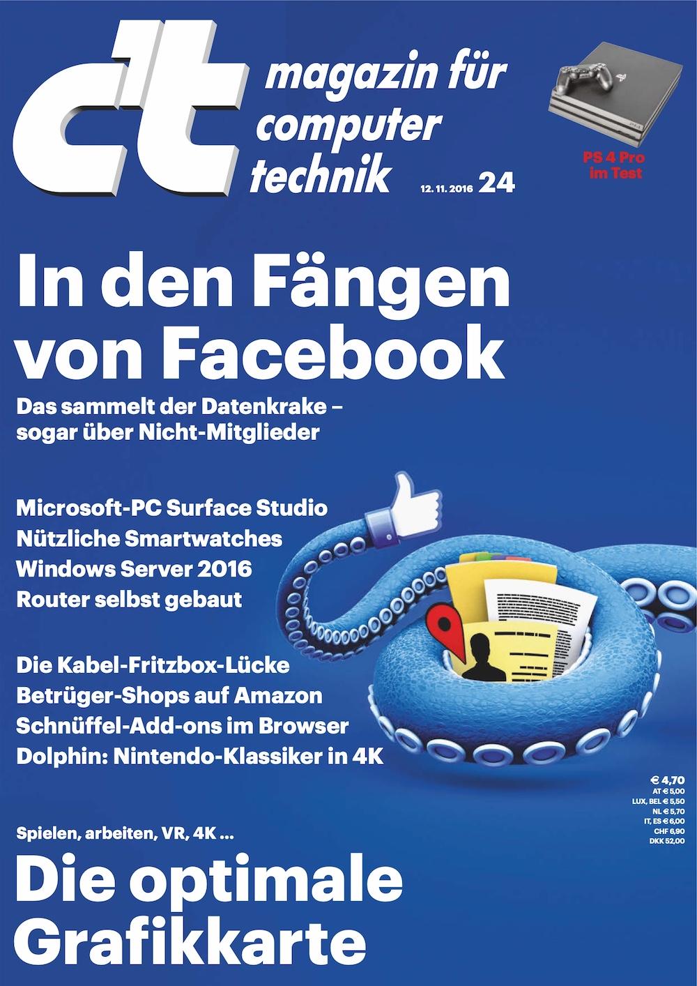 c't Magazin 2016-24