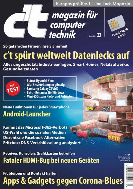 c't Magazin 2020-23