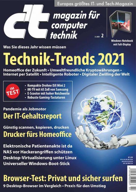c't Magazin 2021-02