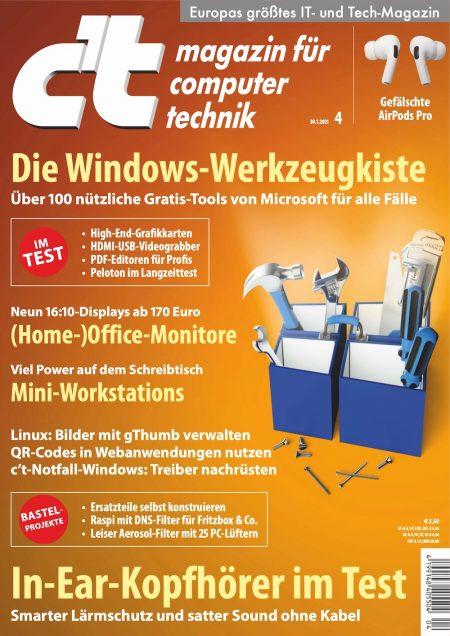 c't Magazin 2021-04