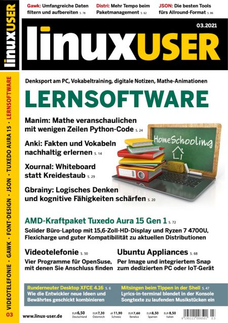 Linux User 2021-03