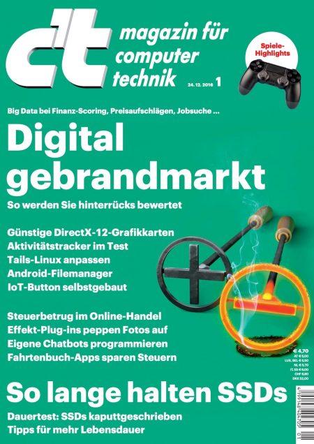 c't Magazin 2017-01