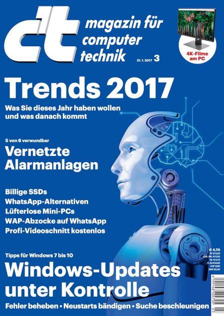 c't Magazin 2017-03