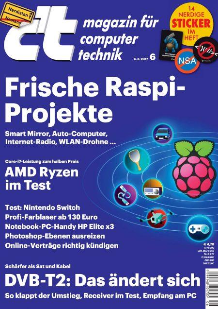 c't Magazin 2017-06