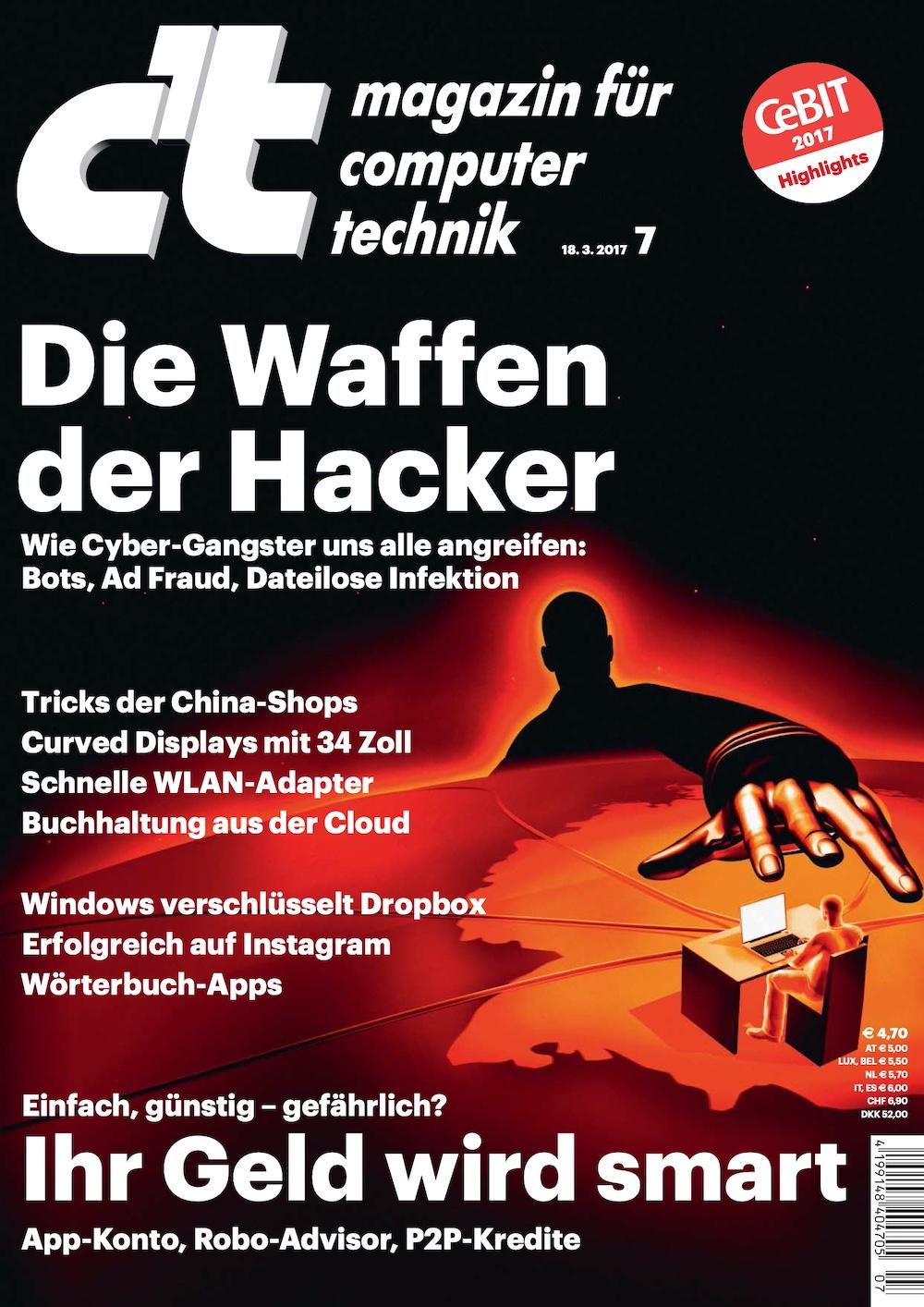 c't Magazin 2017-07