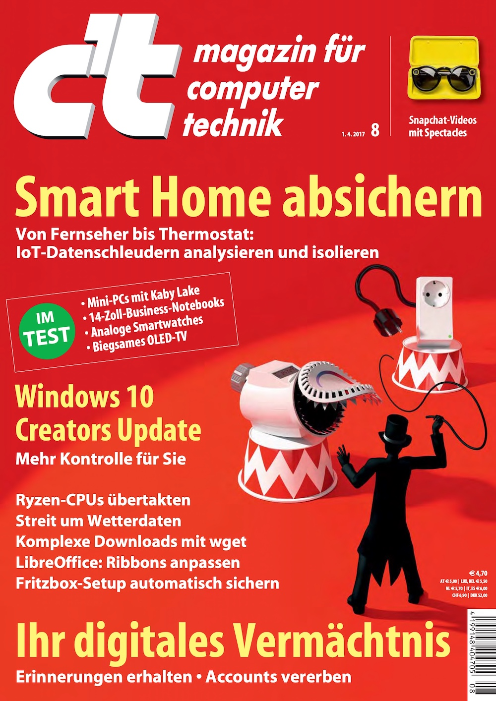 c't Magazin 2017-08