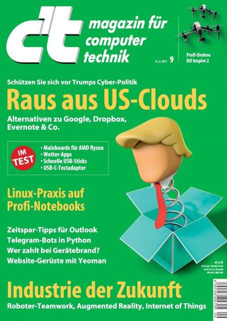 c't Magazin 2017-09