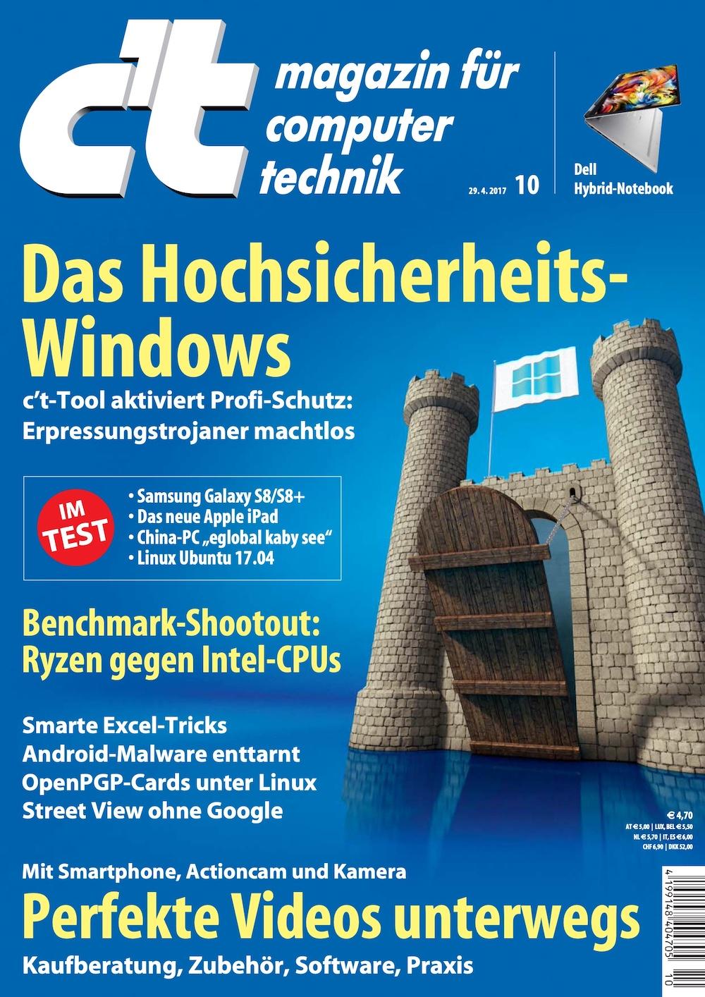 c't Magazin 2017-10