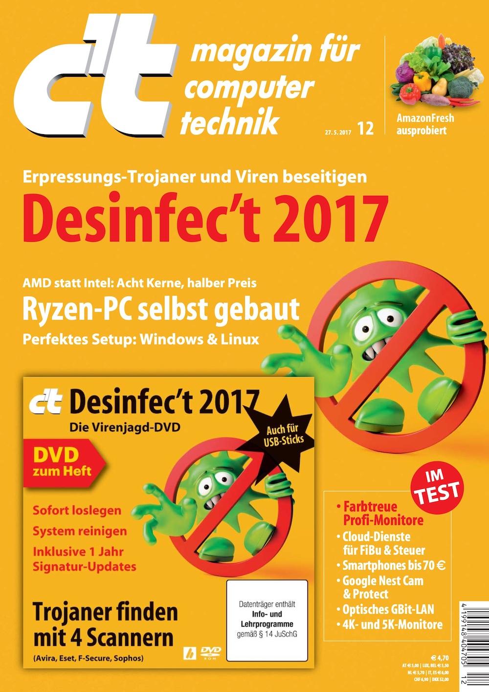 c't Magazin 2017-12