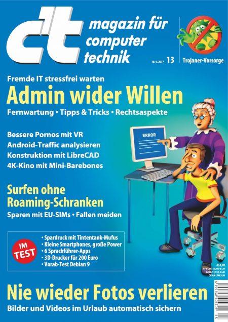 c't Magazin 2017-13