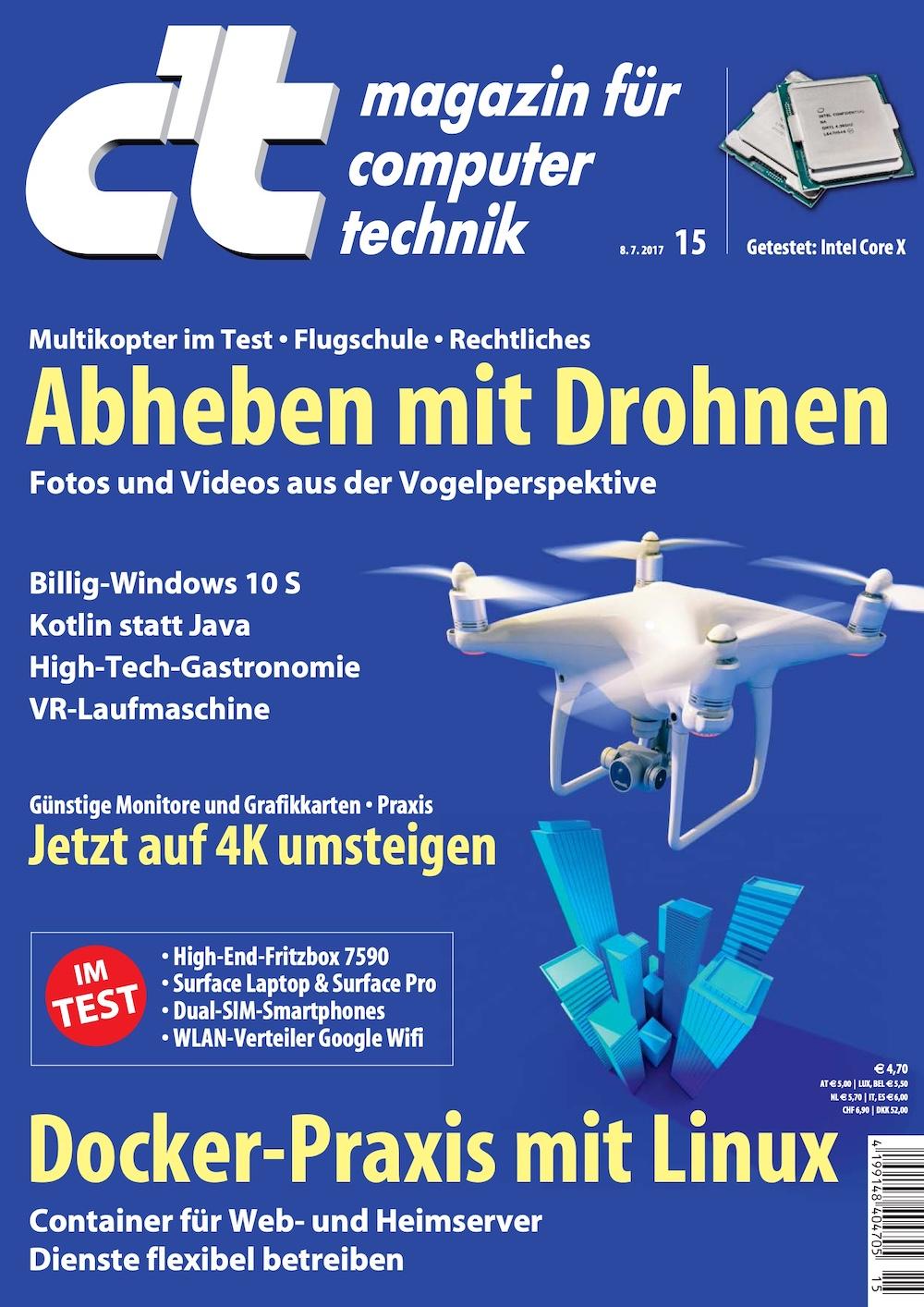 c't Magazin 2017-15