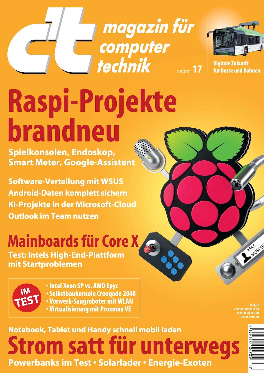 c't Magazin 2017-17