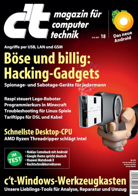 c't Magazin 2017-18