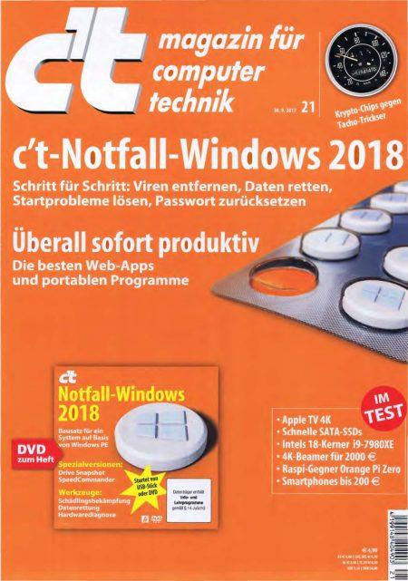 c't Magazin  2017-21