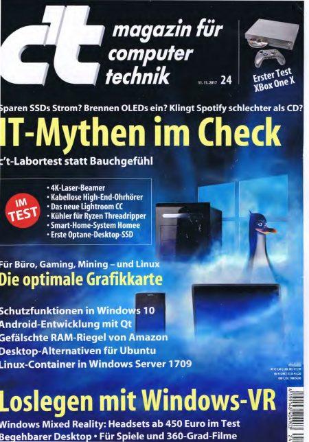 c't Magazin 2017-24