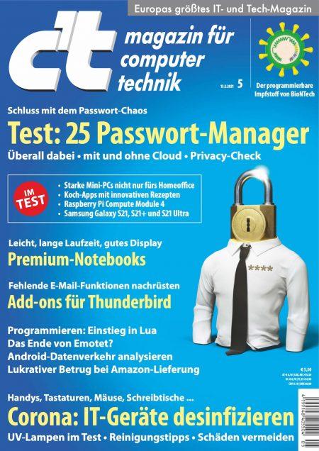 c't Magazin 2021-05