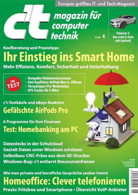 c't Magazin 2021-06