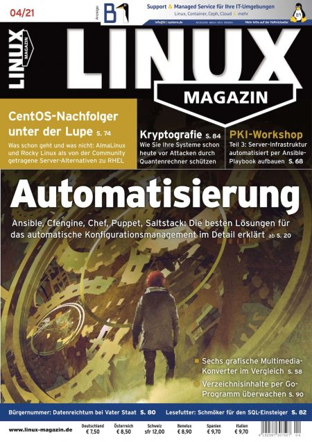 Linux Magazin 2021-04
