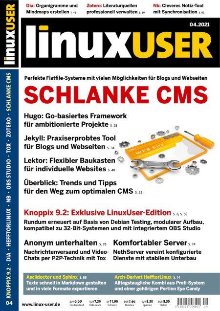 Linux User 2021-04