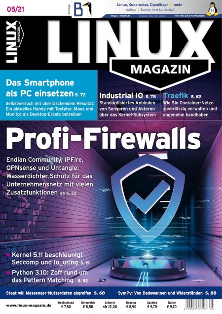 Linux Magazin 2021-05