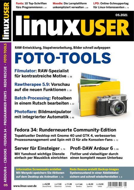 Linux User 2021-05