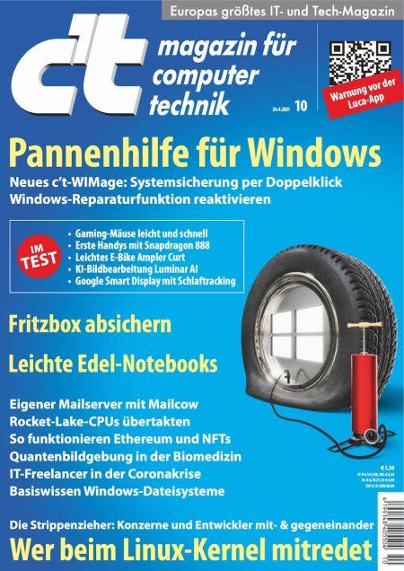 c't Magazin 2021-10